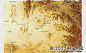 Physical 3D Map of Mensura