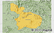 Savanna Style 3D Map of Mensura