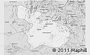 Silver Style 3D Map of Mensura