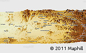 Physical Panoramic Map of Mensura