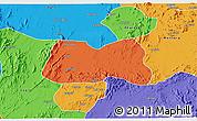 Political 3D Map of Mogolo