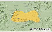 Savanna Style 3D Map of Mogolo