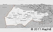 Gray Panoramic Map of Gash-Barka