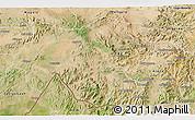 Satellite 3D Map of Shambiko