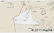 Classic Style 3D Map of Teseney