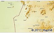 Physical 3D Map of Teseney