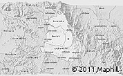 Silver Style 3D Map of Makelay