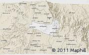 Classic Style 3D Map of Ghala Nefhi