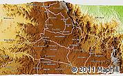 Physical 3D Map of Ghala Nefhi