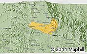 Savanna Style 3D Map of Ghala Nefhi