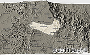 Shaded Relief 3D Map of Ghala Nefhi, darken