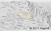 Shaded Relief 3D Map of Ghala Nefhi, desaturated