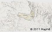 Shaded Relief 3D Map of Ghala Nefhi, lighten