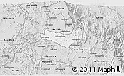 Silver Style 3D Map of Ghala Nefhi
