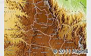 Physical Map of Ghala Nefhi