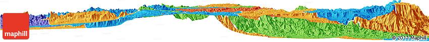 Political Horizon Map of Makelay