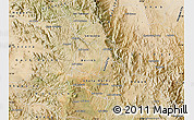 Satellite Map of Makelay