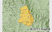 Savanna Style Map of Makelay