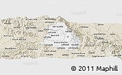 Classic Style Panoramic Map of Makelay