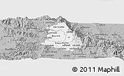 Gray Panoramic Map of Makelay