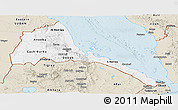 Classic Style Panoramic Map of Eritrea