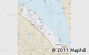 Classic Style Map of S. Red-Sea