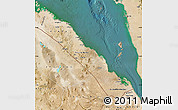 Satellite Map of S. Red-Sea