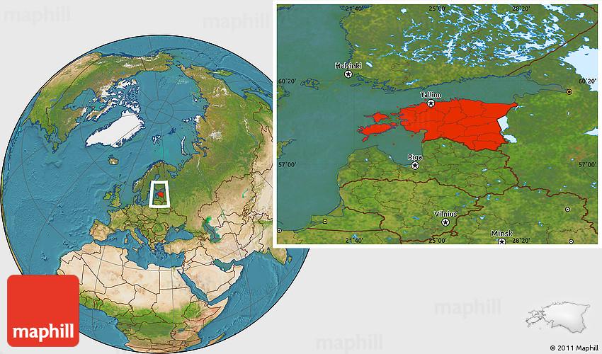 Satellite location map of estonia 2d gumiabroncs Images