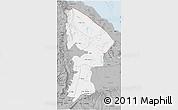 Gray 3D Map of Afar