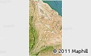 Satellite 3D Map of Afar