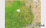 Satellite 3D Map of Amhara