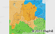 Political Shades 3D Map of Benshangul