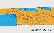 Political Panoramic Map of Bebieg