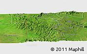 Satellite Panoramic Map of Bebieg