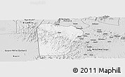 Silver Style Panoramic Map of Bebieg