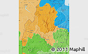 Political Shades Map of Benshangul