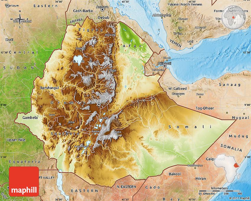 Physical Map of Ethiopia, satellite outside, shaded relief sea on food of ethiopia, satellite map kenya, elevation of ethiopia, village of ethiopia, flora of ethiopia, geographic features of ethiopia, coordinates of ethiopia, king of ethiopia, road map ethiopia, native animal in ethiopia, aerial view of ethiopia, sodo ethiopia, national flag of ethiopia, capital of ethiopia, nazret ethiopia, gojjam ethiopia, city of ethiopia, afar region ethiopia, awash ethiopia,