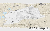 Classic Style Panoramic Map of Arsi