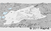 Gray Panoramic Map of Arsi