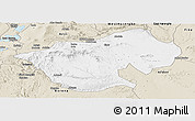 Classic Style Panoramic Map of Bale