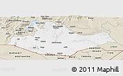 Classic Style Panoramic Map of Borena