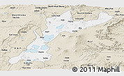 Classic Style Panoramic Map of East Shewa