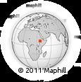 Outline Map of East Wellega