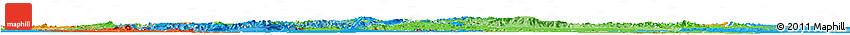 Political Shades Horizon Map of Oromiya
