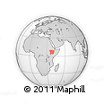 Outline Map of Oromiya