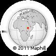 Outline Map of West Wellega