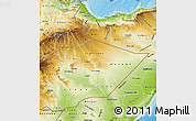 Physical Map of Somali