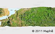 Satellite Panoramic Map of Gedio