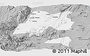 Gray Panoramic Map of Hadiya