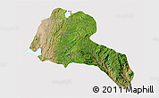 Satellite 3D Map of Sidama, cropped outside